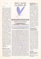 Lire la Lettre d'ALIS n°11