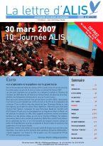 Lire la Lettre d'ALIS n°17