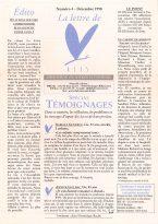 Lire la Lettre d'ALIS n°4