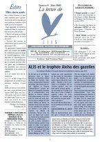 Lire la Lettre d'ALIS n°9